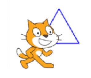 正六角形の作図の様子